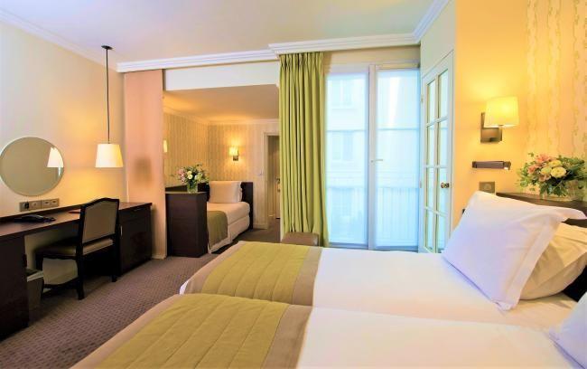 Hotel Henri IV - Chambre triple